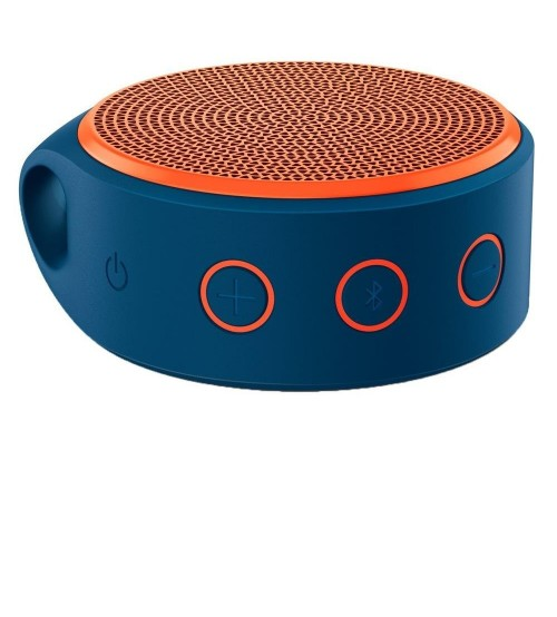 Logitech X100 Wireless Bluetooth Speaker, Orange